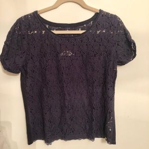Abercrombie & Fitch lace top size large